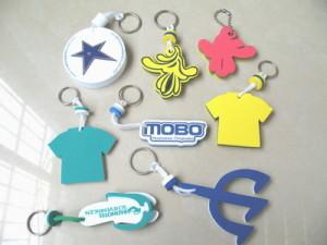 advertising eva keychains pendant